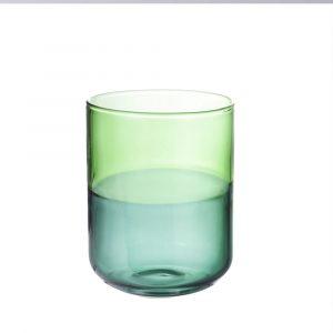 Misha glas mörkgrön & blå