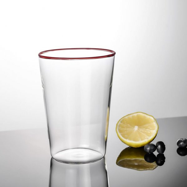 Alf glas röd