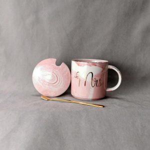Dion Mr & Mrs muggar grå/rosa