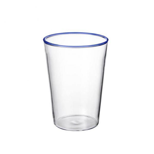 Alf glas blå