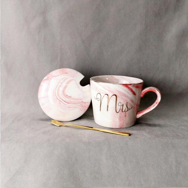 Dian Mr & Mrs muggar grå/rosa