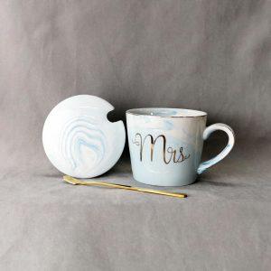 Dian Mr & Mrs muggar grå/blå